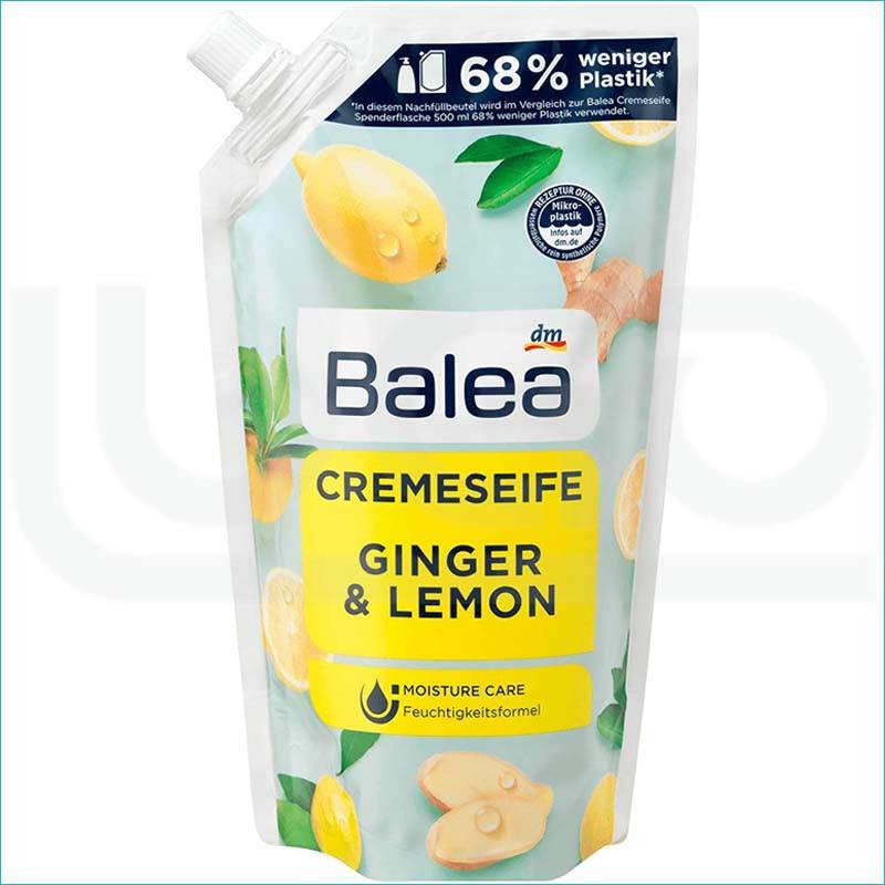 Balea mydło w płynie zapas 500ml. Ginger&Lemon