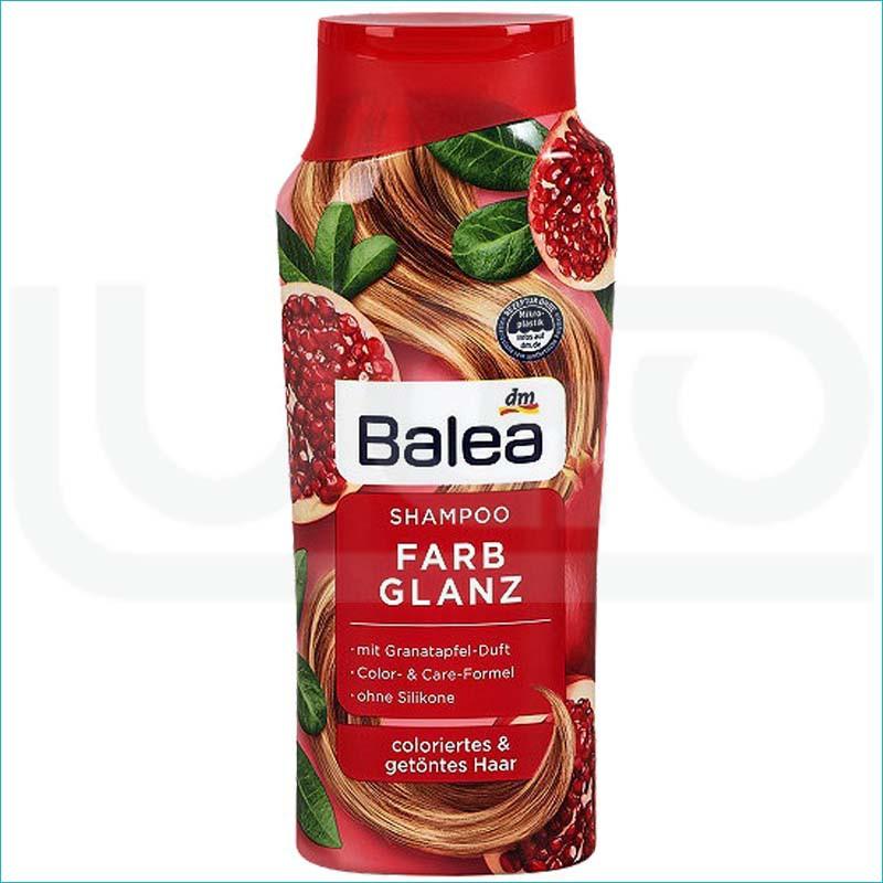 Balea szampon do włosów 300ml. Farb Glanz