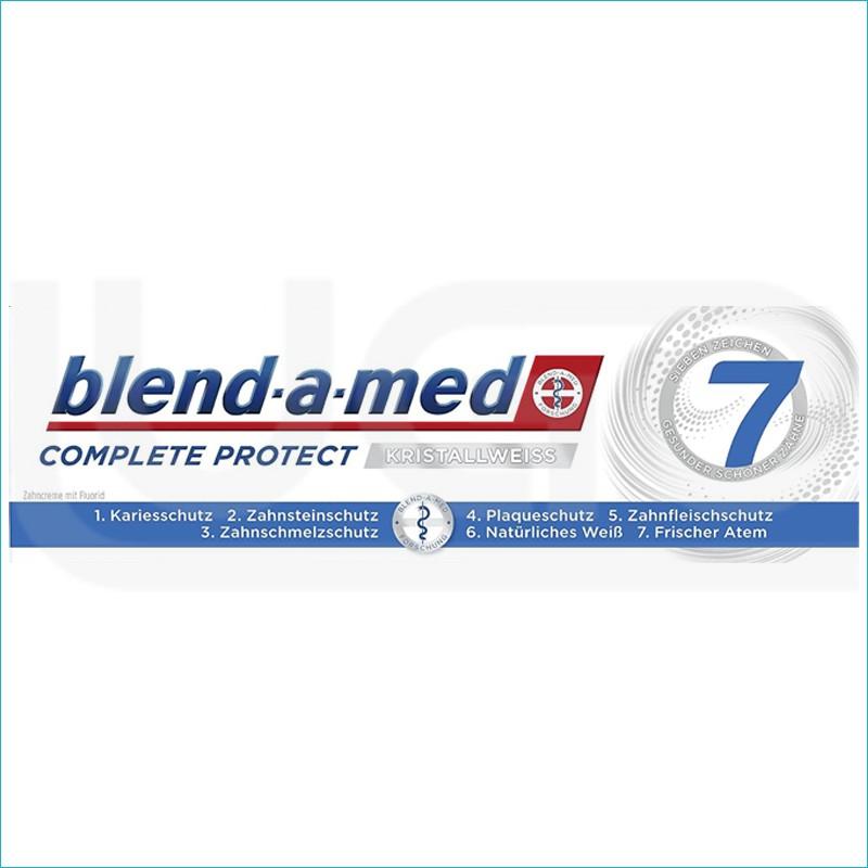 Blend a med Complete pasta do zębów 75ml. Kristall