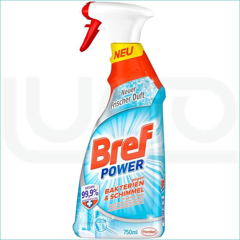 Bref spray do usuwania bakterii i pleśni 750ml.