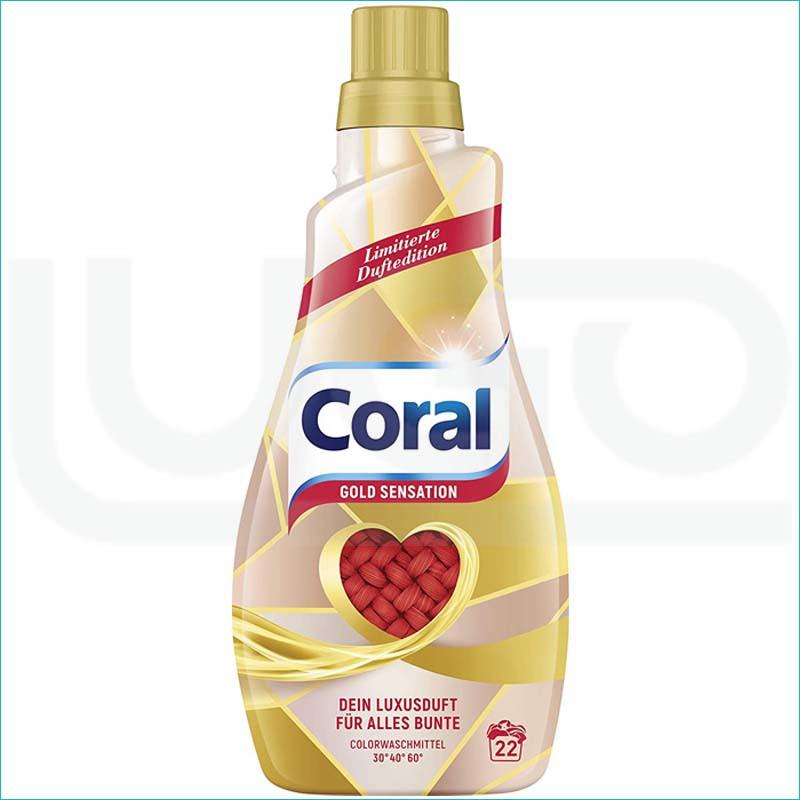 Coral płyn do prania 1,1L/22 Gold Sensation