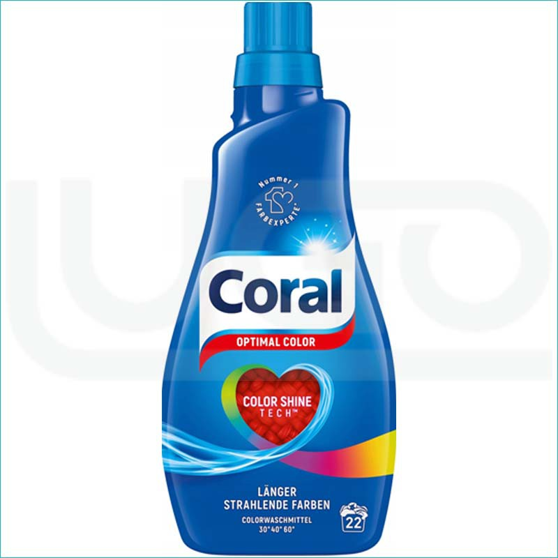 Coral płyn do prania 1,1L/22 Optimal Color
