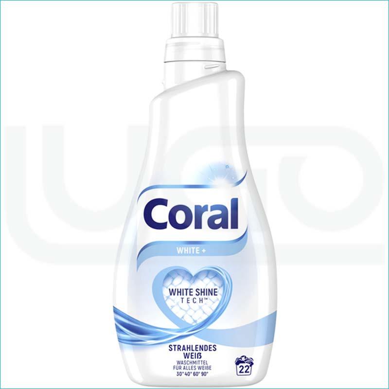 Coral płyn do prania 1,1L/22 White +