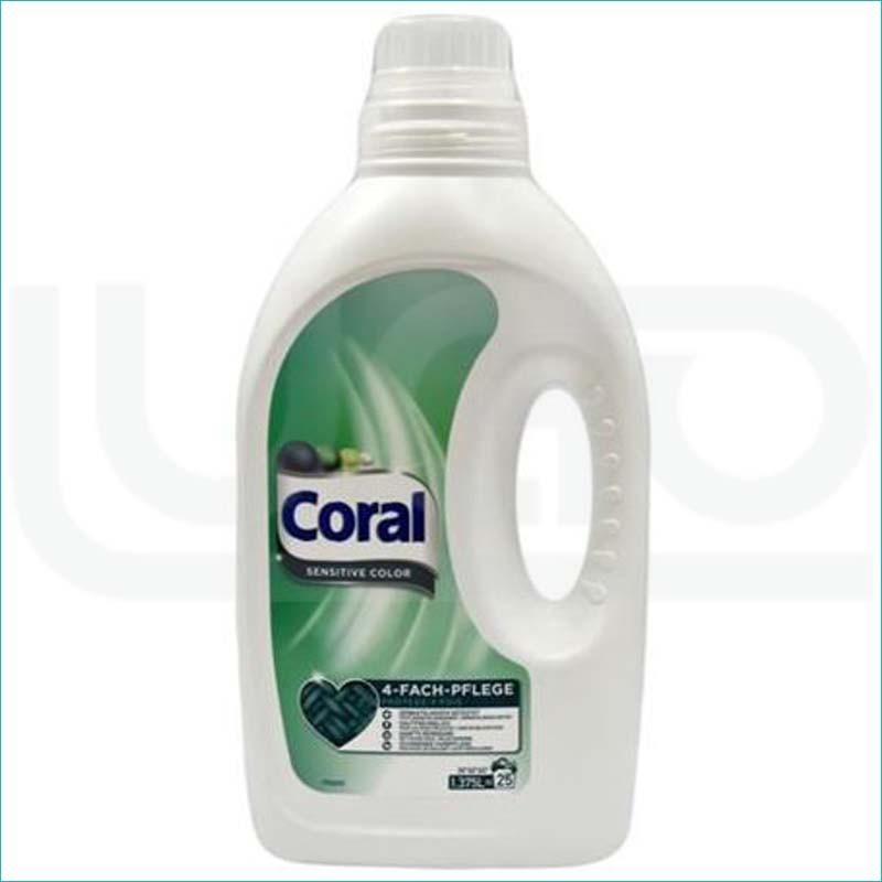 Coral płyn do prania 1,375/25 Sensitive Color
