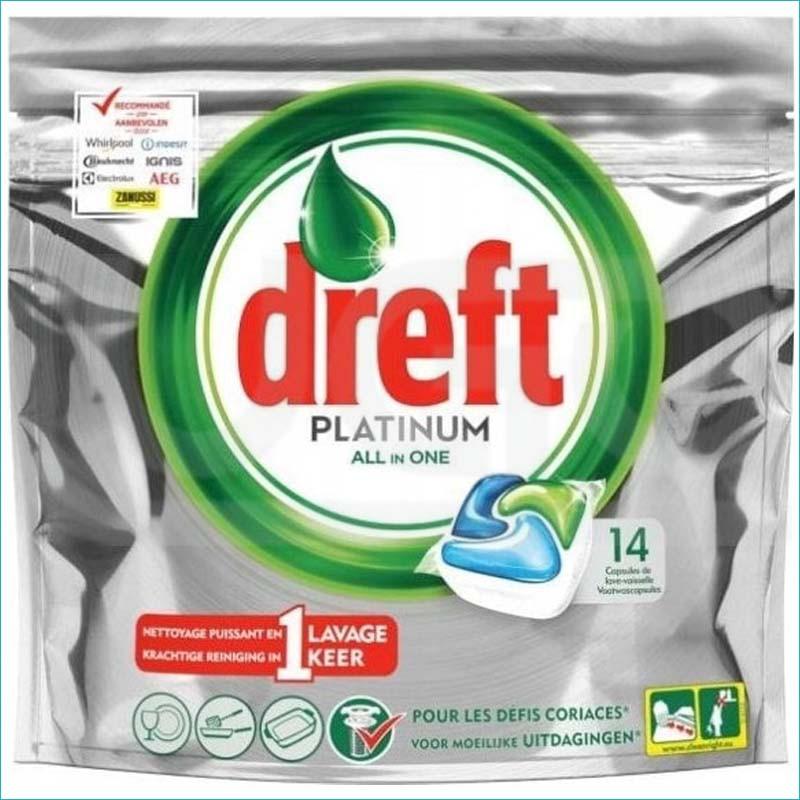 Dreft Platinum tabletki do zmywarki 14szt.