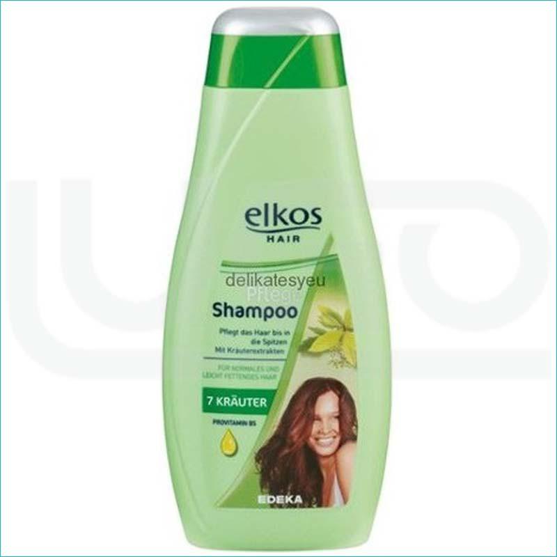 Elkos szampon do włosów 500ml. 7 Krauter
