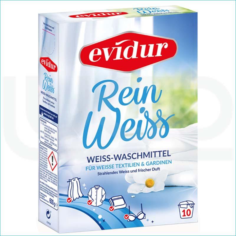 Evidur proszek do prania białych tkanin 600g.