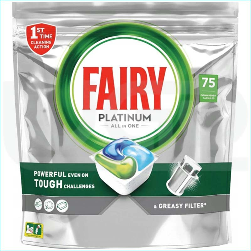 Fairy Platinum kapsułki do zmywarki 75szt.