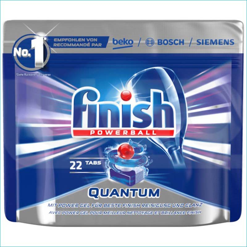 Finish Quantum tabletki do zmywarki 22szt