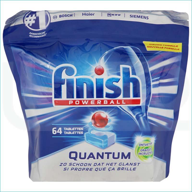 Finish Quantum tabletki do zmywarki 64szt.