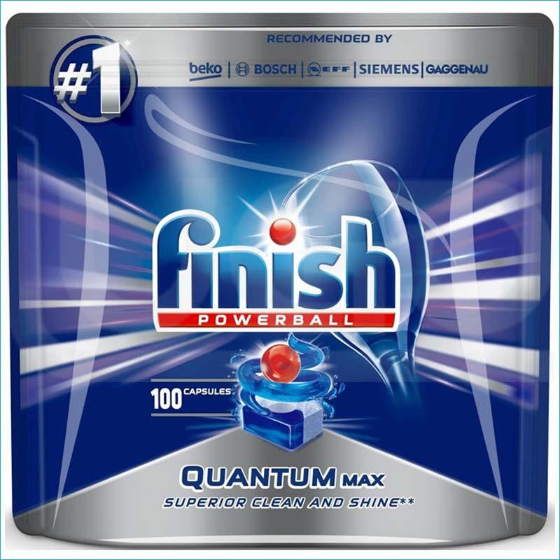 Finish Quantum Max tabletki do zmywarki 100szt PL
