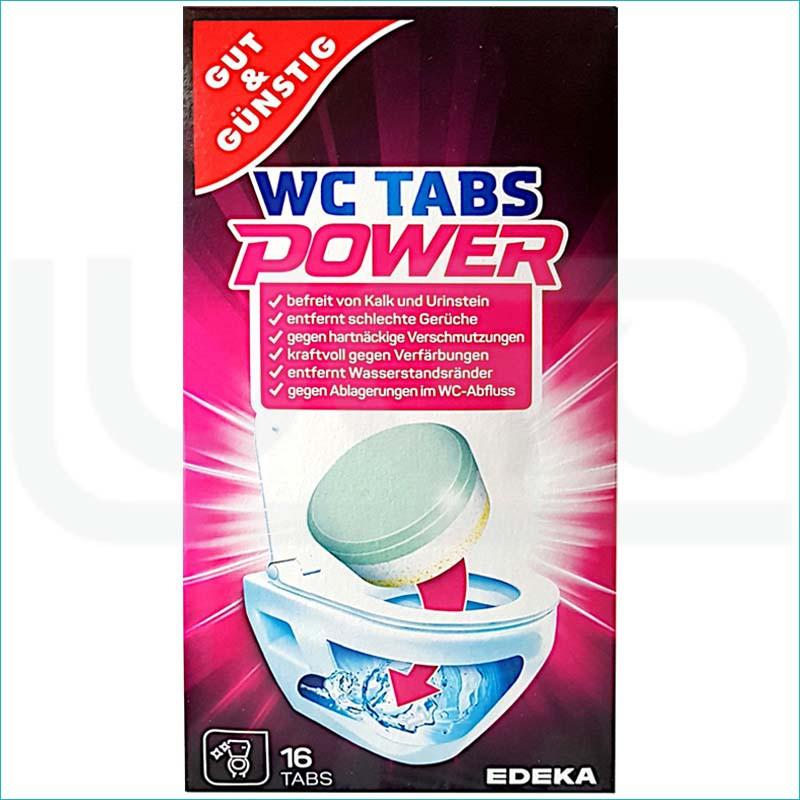 G&G tabletki odkamieniające do WC 16szt.