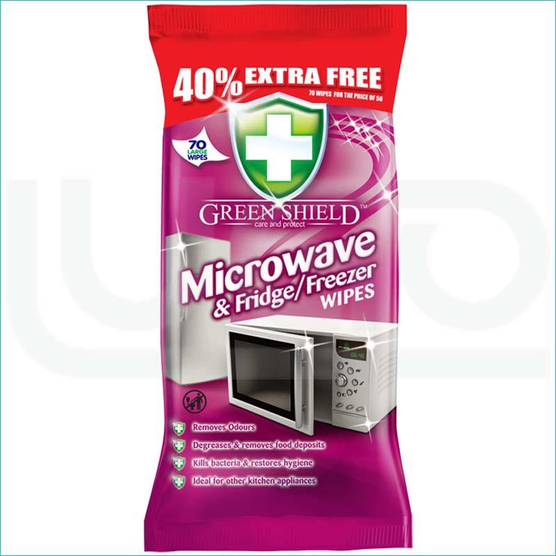 Green Shield chusteczki 70szt / Microwave