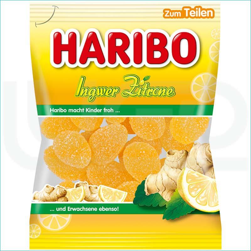 Haribo żelki 175g. Ingwer Zitrone