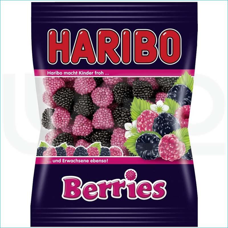Haribo żelki 200g. Berries