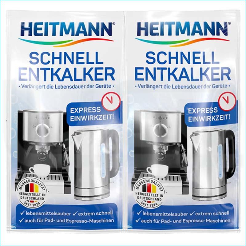 Heitmann odkamieniacz do ekspresów 2x15g