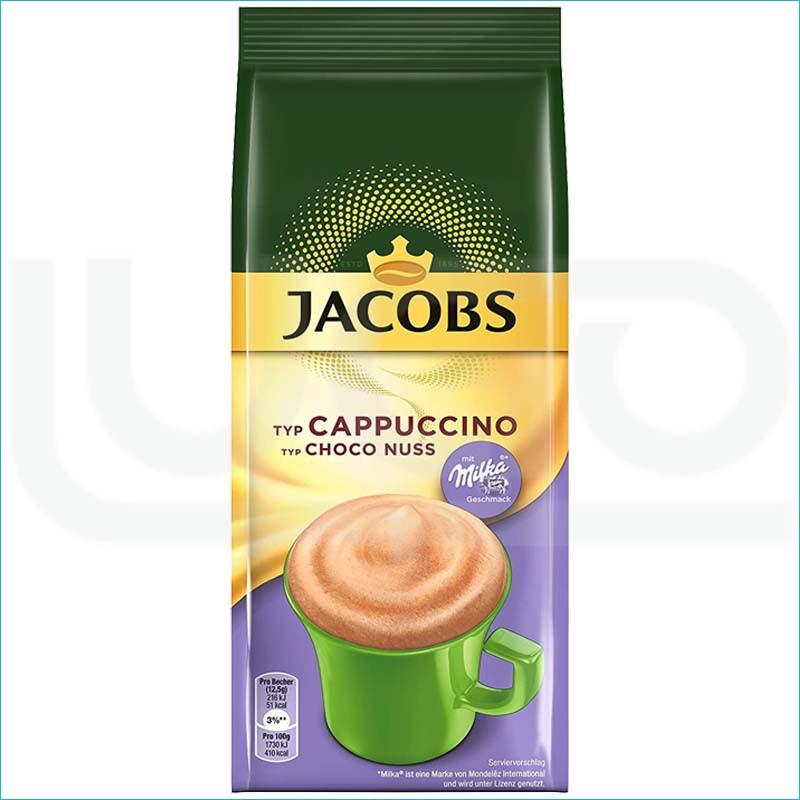 Kawa Jacobs Cappucino Milka 500g./ Choco Nuss