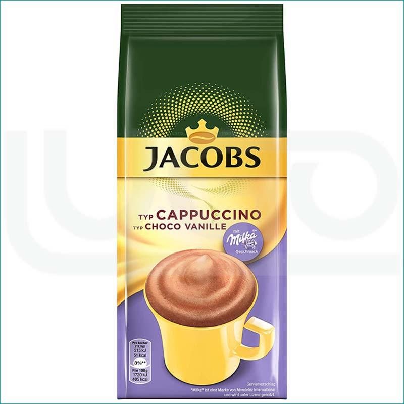 Kawa Jacobs Cappucino Milka 500g./ Choco Vanilia