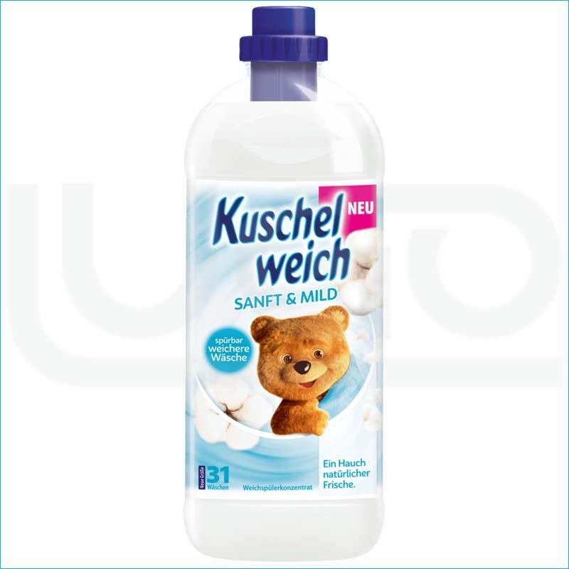 Kuschelweich płyn do płukania 1L. Sanf & Mild