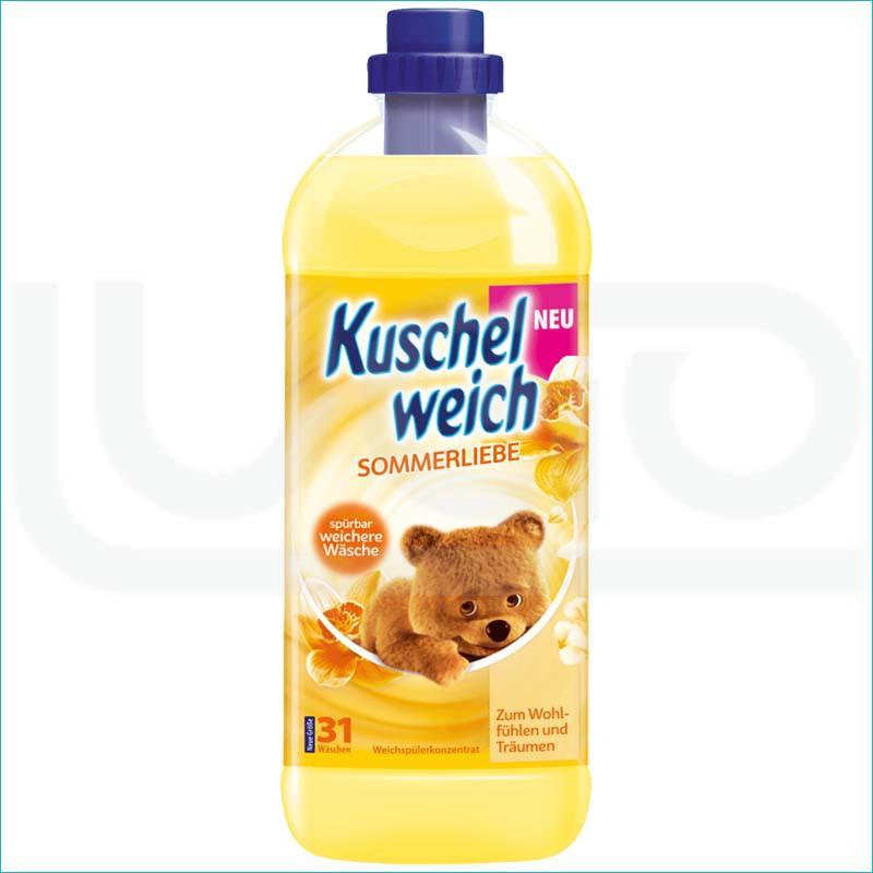 Kuschelweich płyn do płukania 1L. Sommerliebe