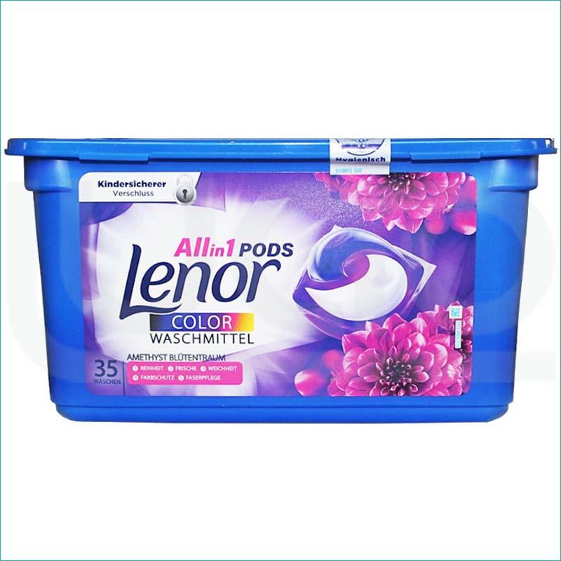 Lenor 3w1 kapsułki do prania 35szt. Color Amethyst