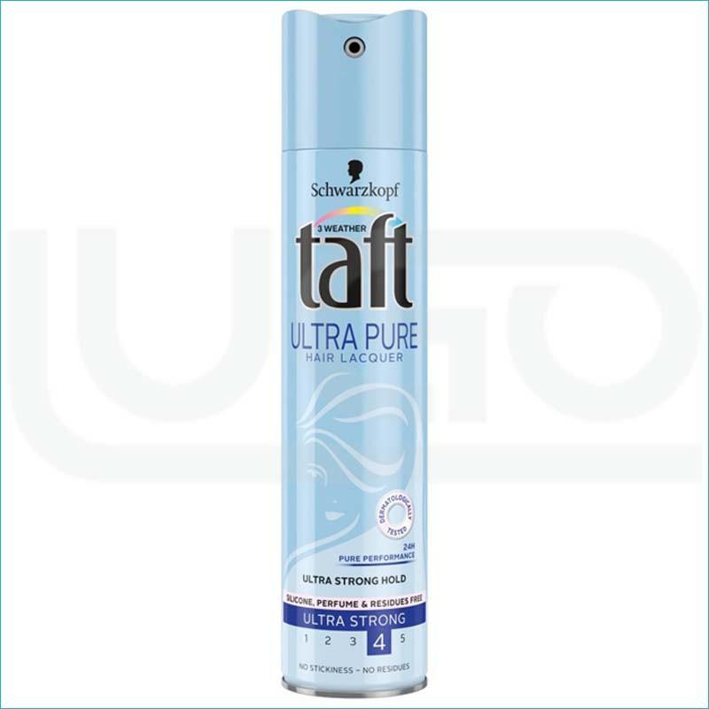 Taft lakier do włosów 250ml. Ultra Pure 4