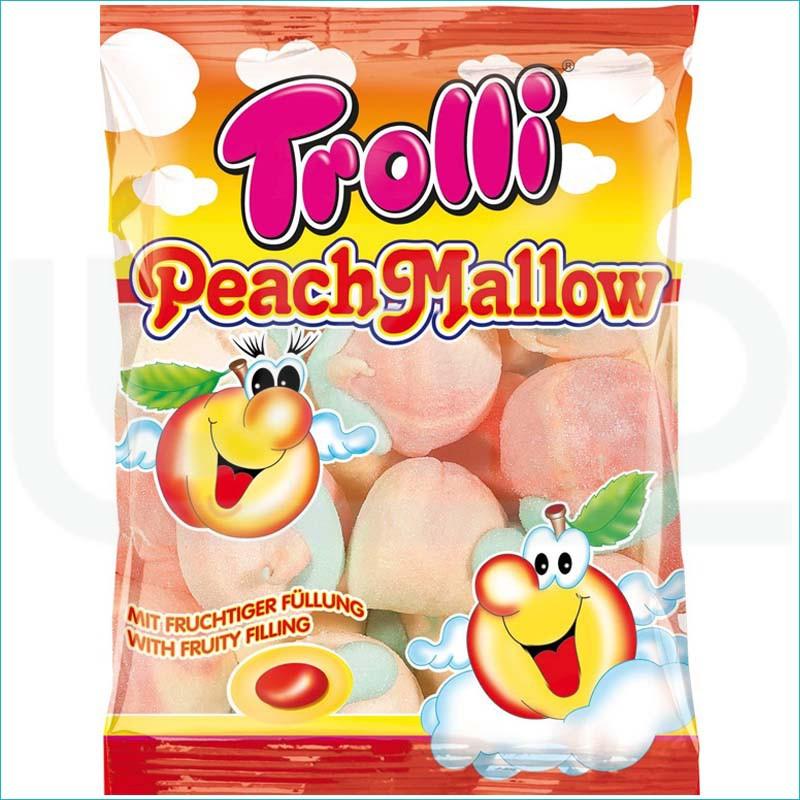 Trolli pianki 150g. Peach Mallow