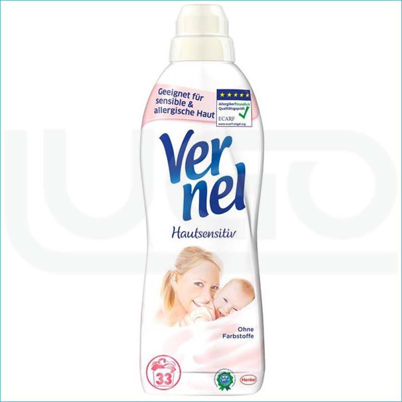 Vernel płyn do płukania 1L. Sensitive