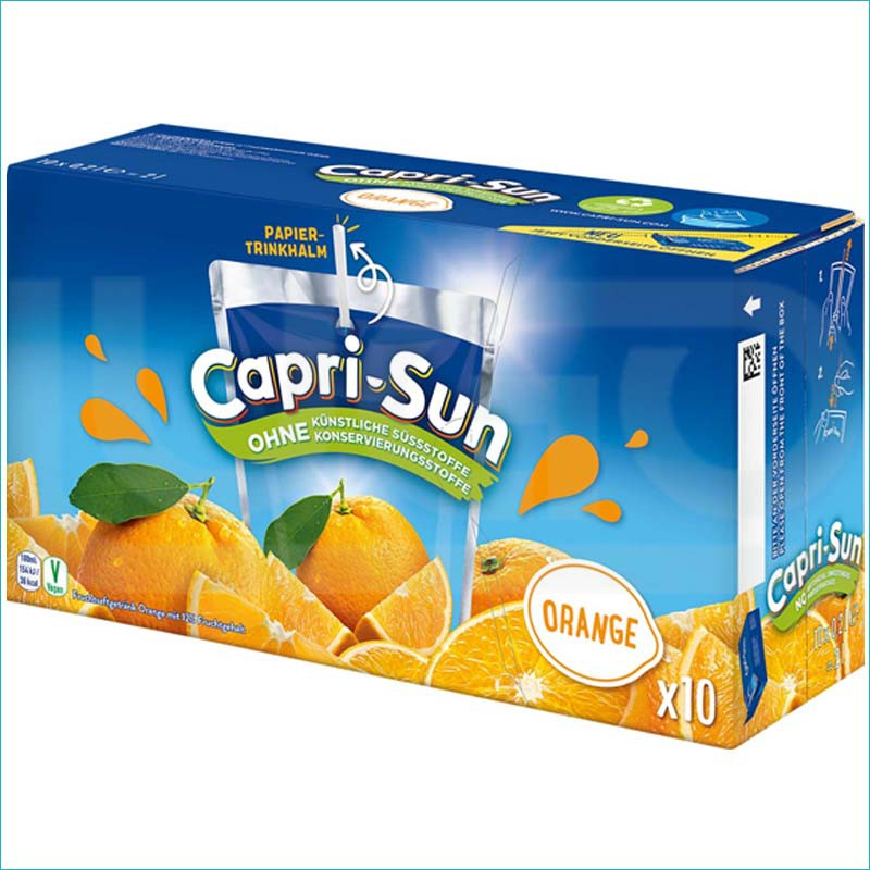 Capri-Sun sok orange 10szt/200ml