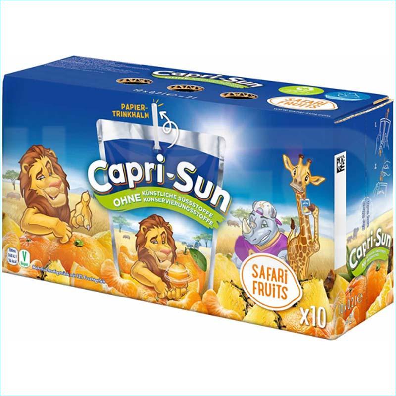 Capri-Sun sok safari fruits 10szt/200ml
