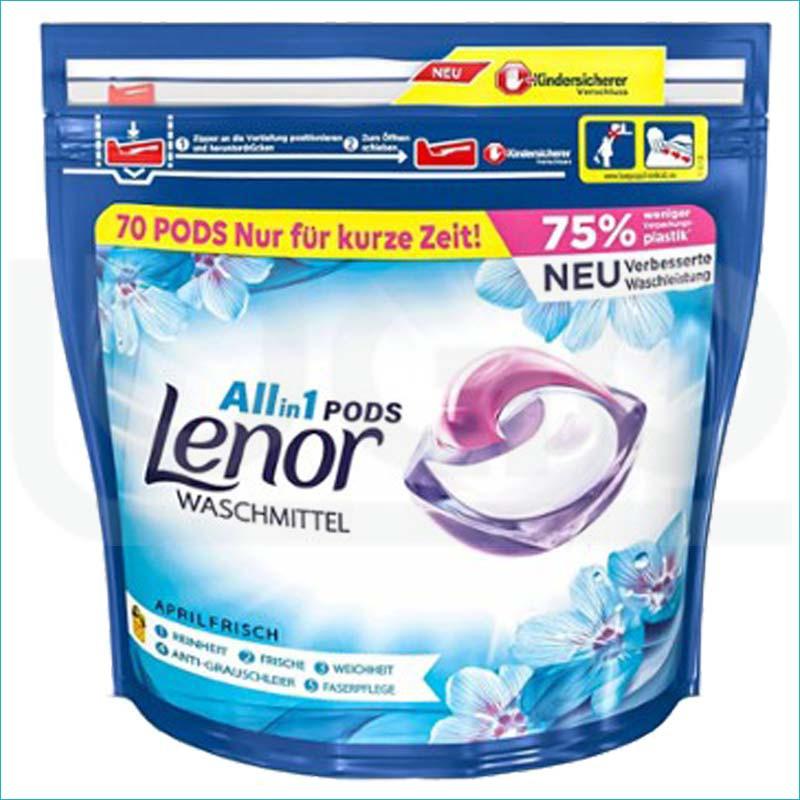 Lenor 3w1 kapsułki do prania 70szt. Uniwersal
