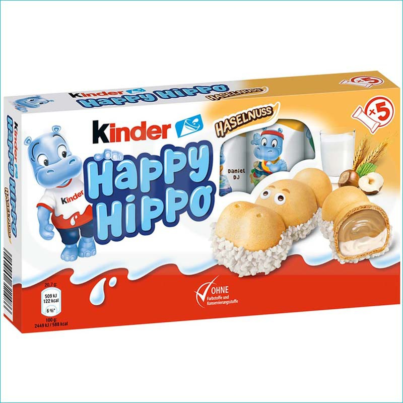 Kinder batoniki Happy Hippo 5szt.