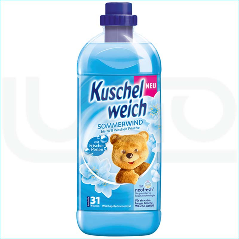 Kuschelweich płyn do płukania 1L. Sommerwind