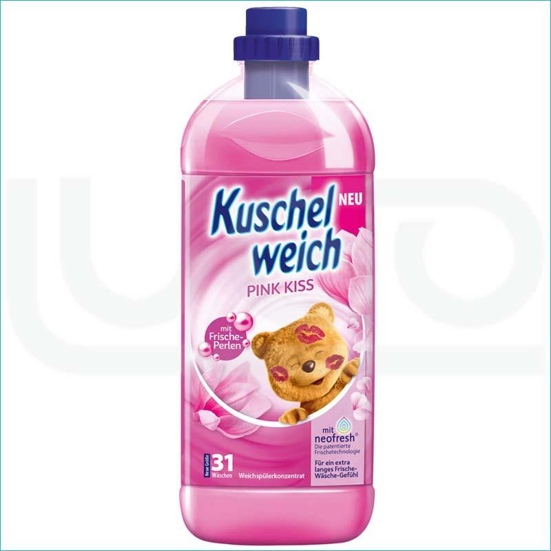 Kuschelweich płyn do płukania 1L. Pink Kiss