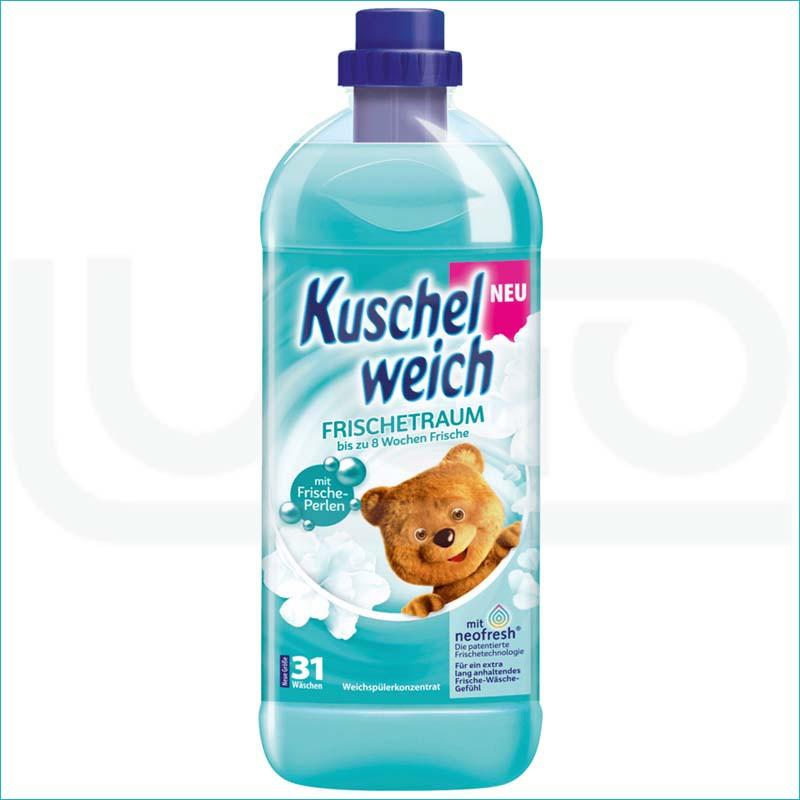 Kuschelweich płyn do płukania 1L. Frischetraum