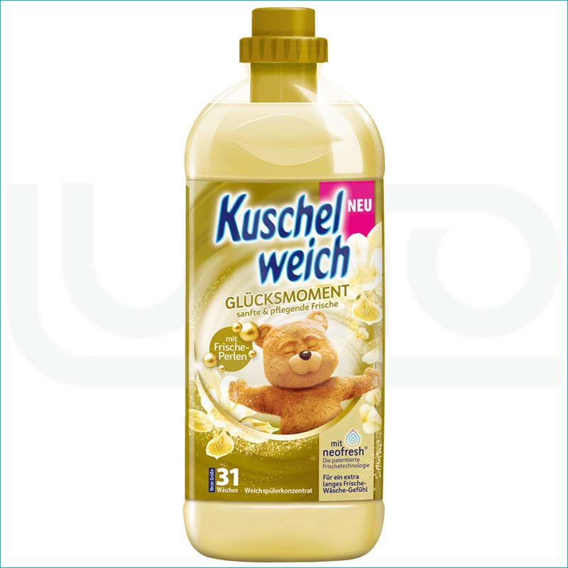Kuschelweich płyn do płukania 1L. Glucksmoment