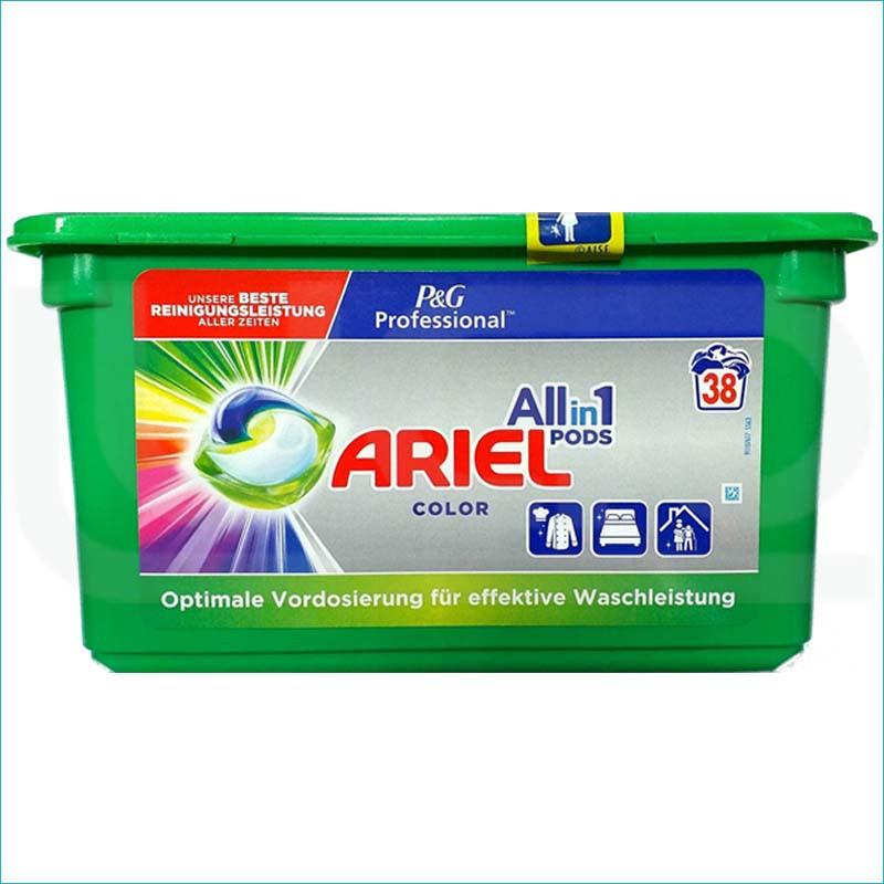 Ariel kapsułki do prania 38szt. Color