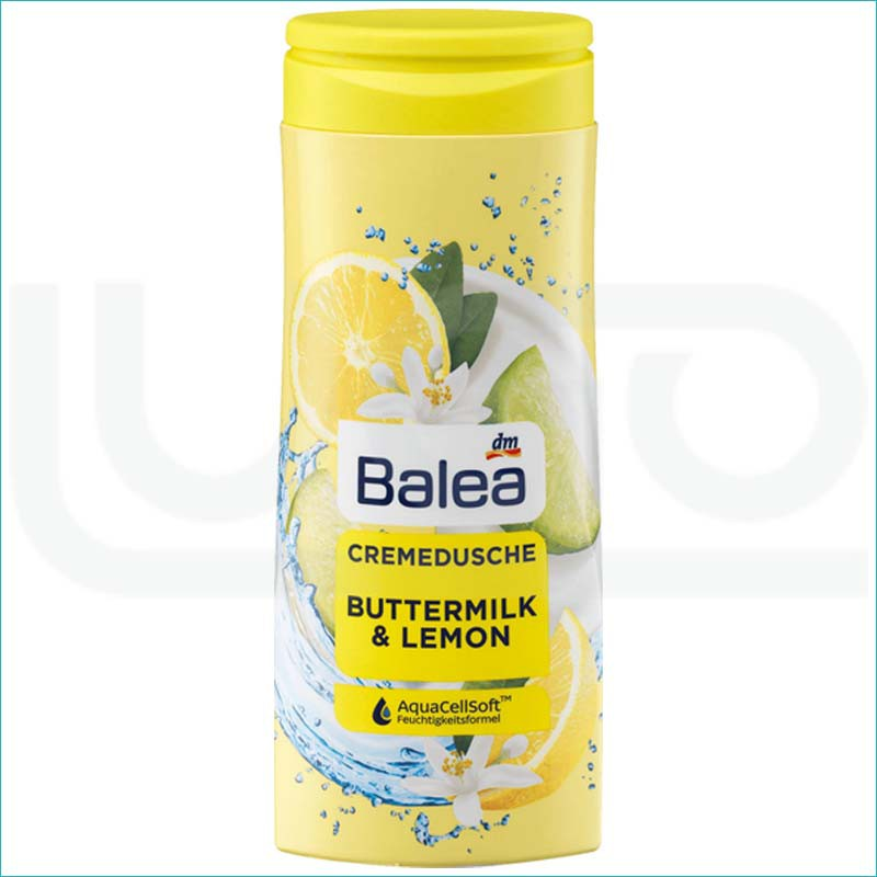 Balea żel pod prysznic 300ml Buttermilk & Lemon