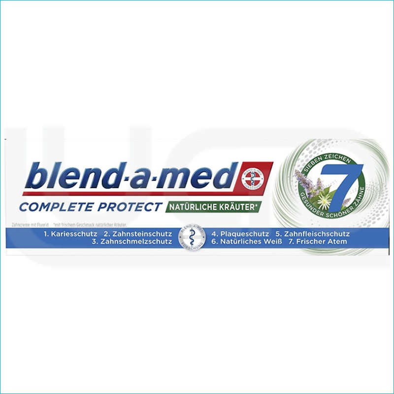 Blend a med Complete pasta do zębów 75ml. Krauter