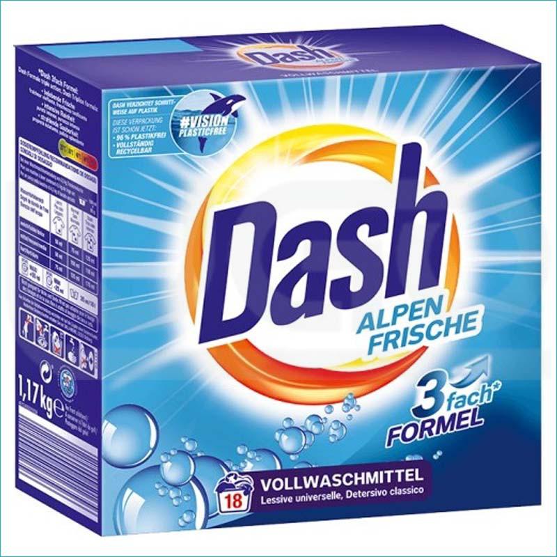 Dash proszek do prania 1,17kg/18 Uniwersal Frische