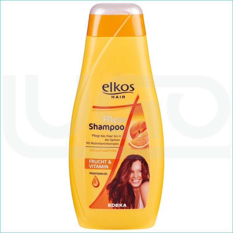 Elkos szampon do włosów 500ml. Frucht & Vitamin