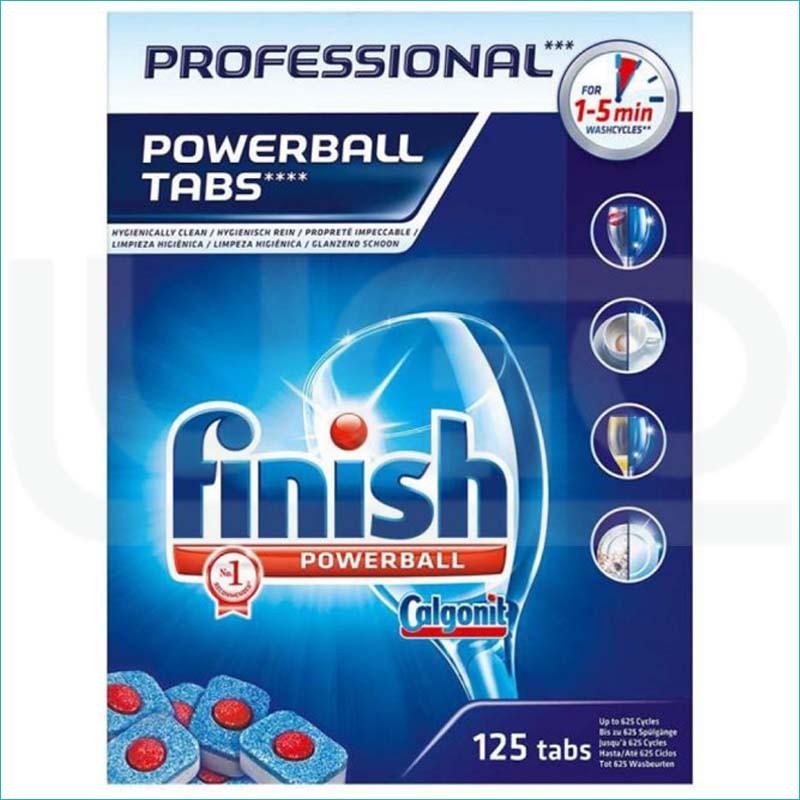 Finish Professional tabletki do zmywarki 125szt