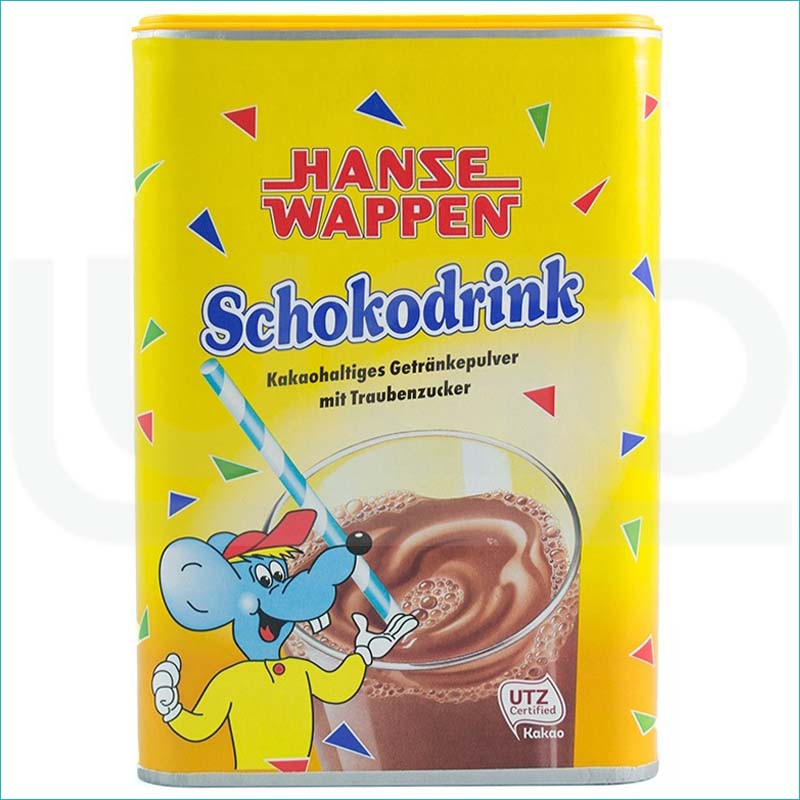 Hanse Wappen Shokodrink kakao 800g.