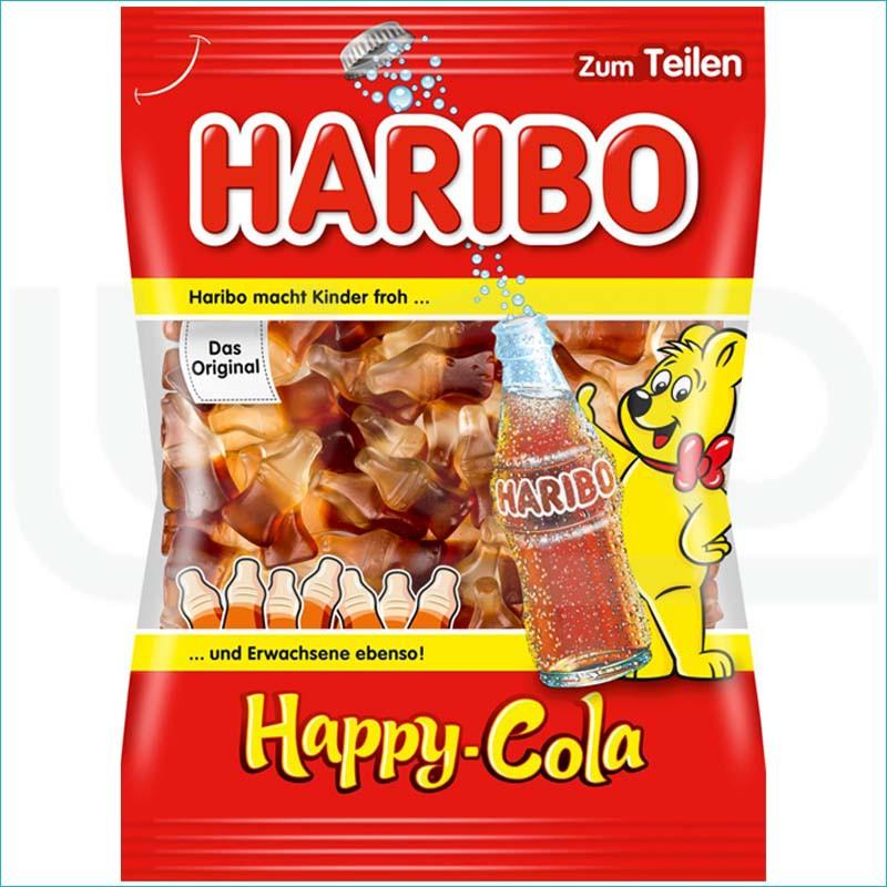 Haribo żelki 200g. Happy Cola