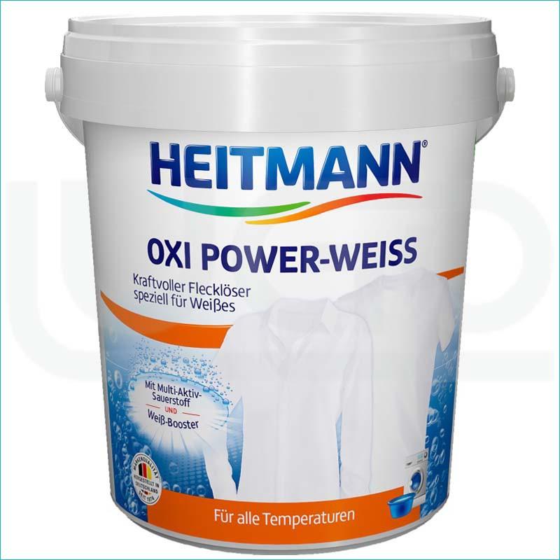 Heitmann OXI odplamiacz w proszku do białych 750g.
