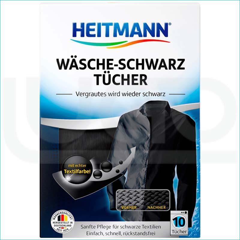 Heitmann chusteczki do ciemnych tkanin 10szt.