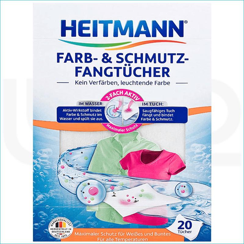 Heitmann chusteczki wyłapujące kolor 20szt.