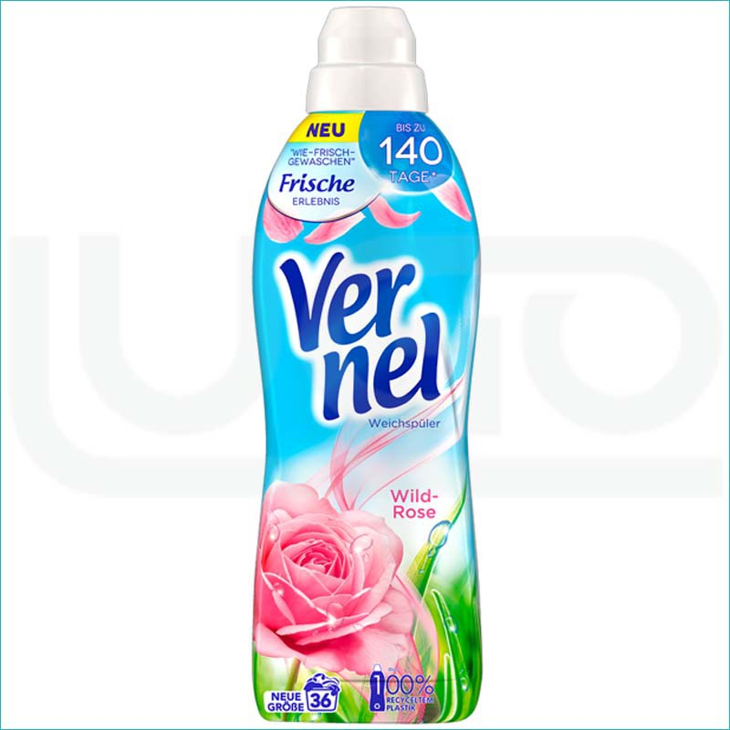 Vernel płyn do płukania 1L. Wild Rose