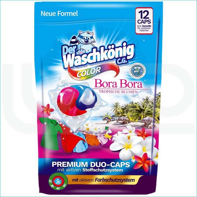 Waschkonig kapsułki do prania 12szt. Color