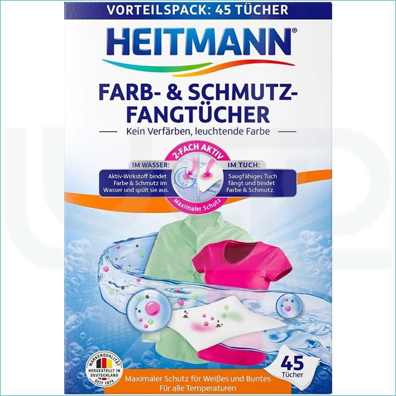 Heitmann chusteczki wyłapujące kolor 45szt.